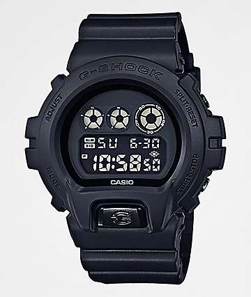 G-Shock DW6900 Black Out Digital Watch