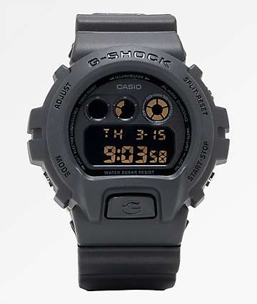 G-Shock DW6900 Stealth Black Digital Watch