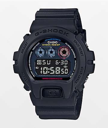 G-Shock DW6900BMC-1 Black & Neon Tokyo Digital Watch