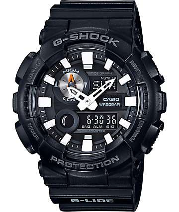 G-Shock G-Lide GAX100B-1A reloj análogo y digital negro