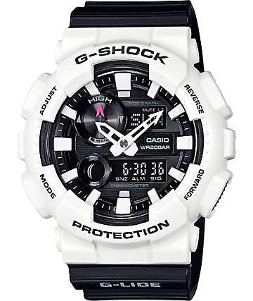 G-Shock G-Lide GAX100B-7A reloj análogo y digital negro y blanco