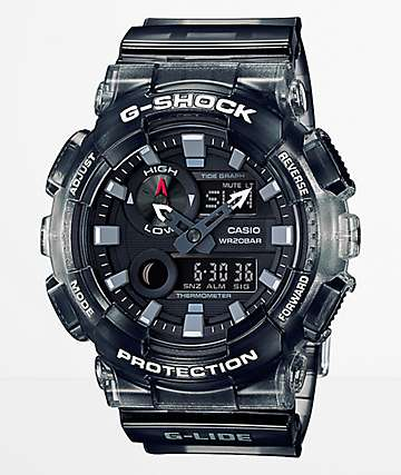 G-Shock G-Lide GAX100M-SB Gradient Black Digital & Analog Watch