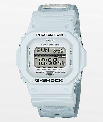 G-Shock G-Lide GLS-5600CL-7 Cloth Light Grey Digital Watch