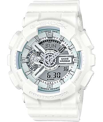 G-Shock GA-110LPA-7A Military Perforated White Watch