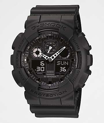 G-Shock GA100-1A1 X-reloj grande de color negro