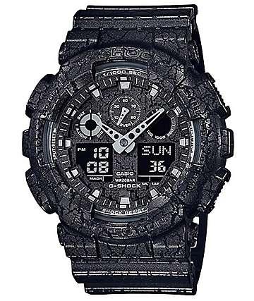 G-Shock GA100CG-1A reloj negro crepitado