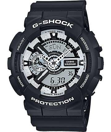 G-Shock GA110BW-1A Digital Chronograph Watch