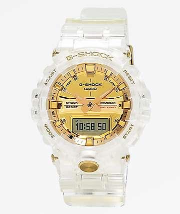 G-Shock GA835 Skeleton reloj de oro