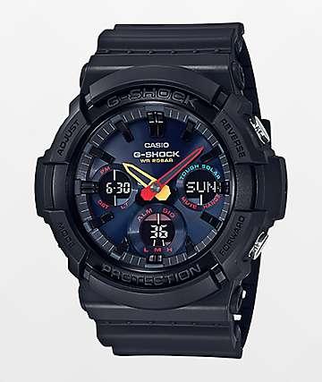 G-Shock GAS100BMC-1A Black & Neon Tokyo  Watch