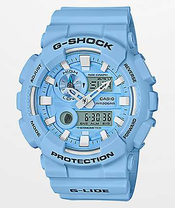 G-Shock GAX100CSA-2A Baby Blue Watch