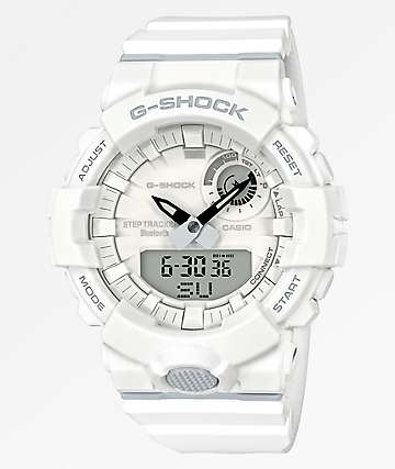 G-Shock GBA-800 reloj blanco