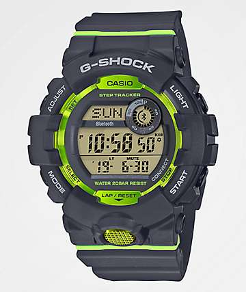 G-Shock GBD800 Black & Green Watch