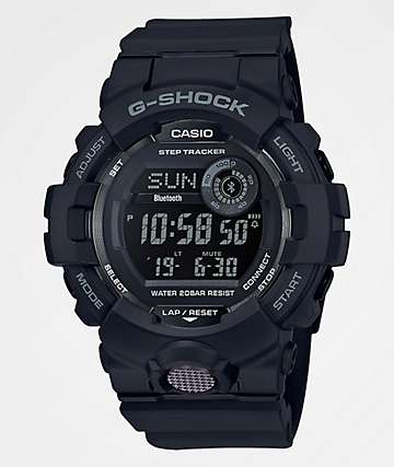 G-Shock GBD800 Black & Grey Watch