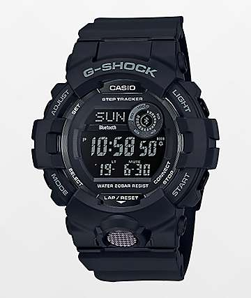 G-Shock GBD800 Black & Red Watch
