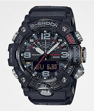 G-Shock GGB100-1A Mudmaster Black Carbon Watch