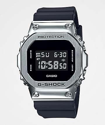 G-Shock GM5600 Silver & Black Digital Watch