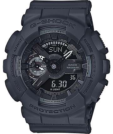 G-Shock GMA-S110CM-8A Military Black Watch