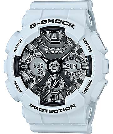 G-Shock GMAS120-MF Light Blue & Silver Watch