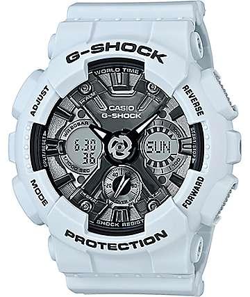 G-Shock GMAS120-MF Light Blue & Silver Watch