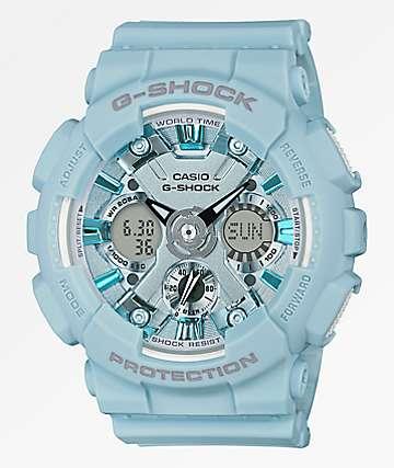 G-Shock GMAS120 reloj azul claro