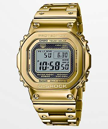 G-Shock GMWB5000 Gold Anniversary Watch