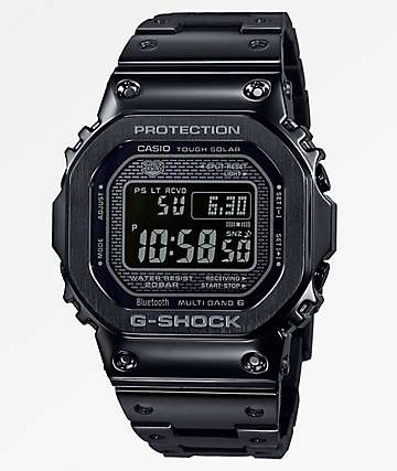 G-Shock GMWB5000 reloj digital de metal negro