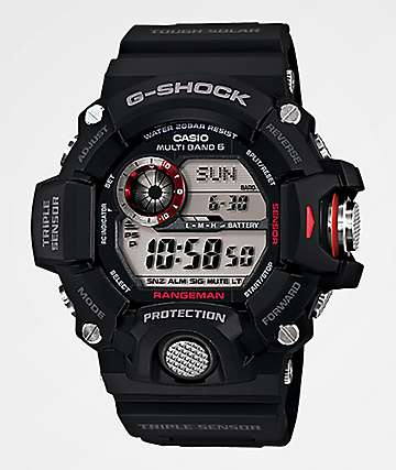 G-Shock GW9400 Rangeman Black & Red Watch