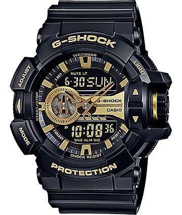 G-Shock Garish GA-400GB-1A9 Black & Gold Watch