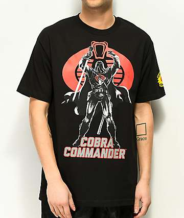 G.I Joe Cobra Commander Black T-Shirt