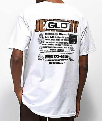 GLD Buy Now camiseta blanca