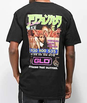 GLD Everything Hotline camiseta negra