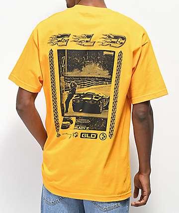 GLD Whips Chains Speed camiseta dorada