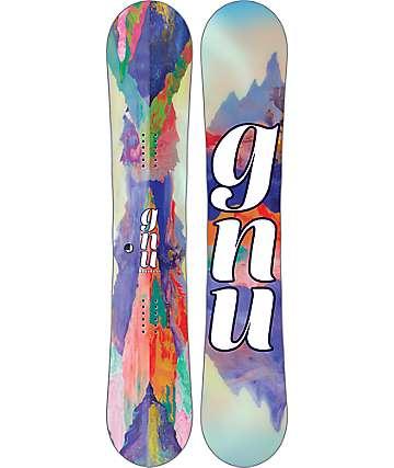 GNU B-Nice Reflections 145cm tabla de snowboard para mujer