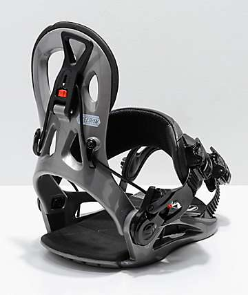GNU Cheeter Black Snowboard Bindings