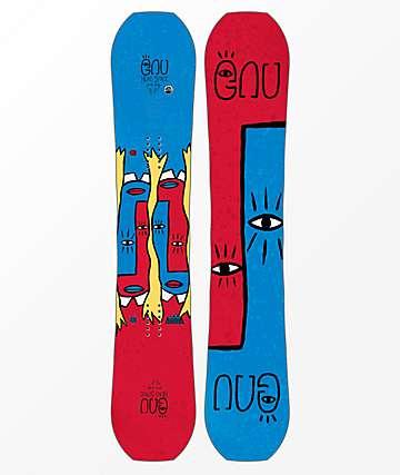 GNU Head Space Asym tabla de snowboard