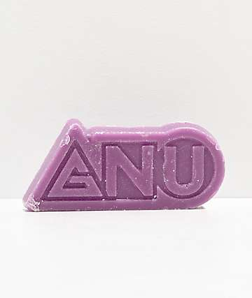 GNU Logo Purple All Temp Snowboard Wax