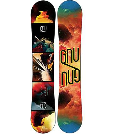 GNU Metal GNUru EC2 BTX 155cm tabla de snowboard