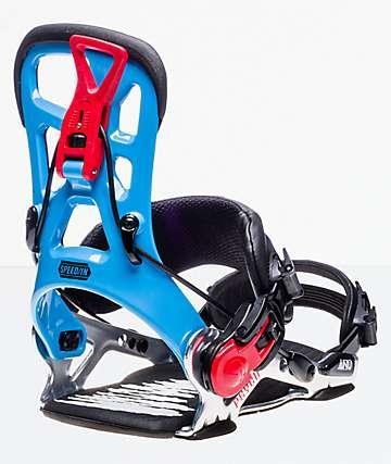GNU Psych 2019 fijaciones de snowboard en azul