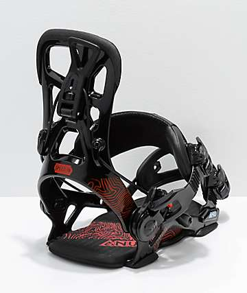 GNU Psych Black Snowboard Bindings