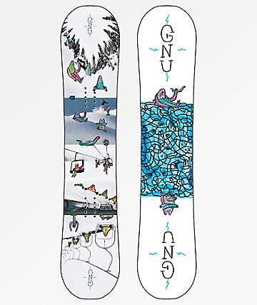 GNU Recess 2019 tabla de snowboard para niños