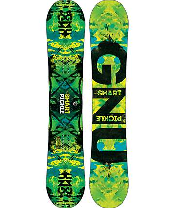 GNU Smart Pickle 153cm Snowboard