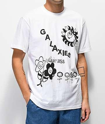 Galaxies Sunshine Day White T-Shirt