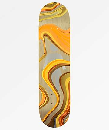 "Girl Biebel Oil Slick 8.0"" Skateboard Deck"