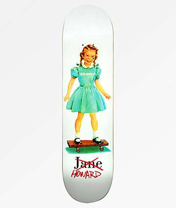 "Girl Howard Jane 8.0"" Skateboard Deck"
