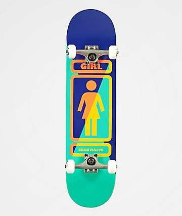 "Girl Malto 8.0"" completo de skate"