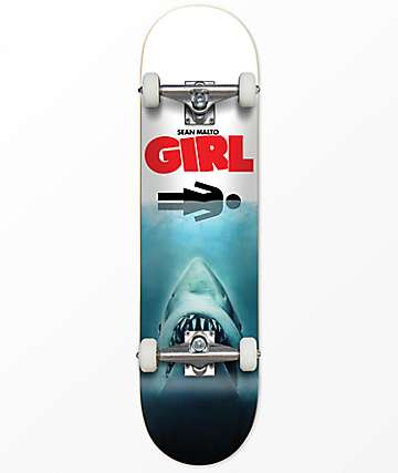 "Girl Malto Jaws 7.62"" Skateboard Complete"