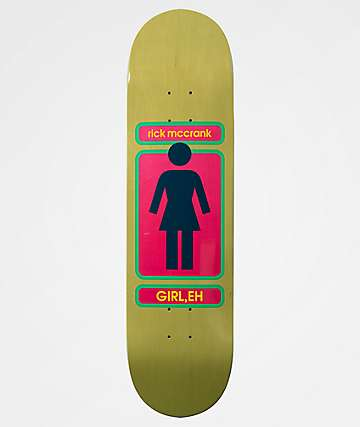 "Girl McCrank 93 Til 8.375"" Skateboard Deck"