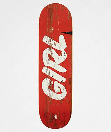 "Girl McCrank Sign Painter 8.5"" Skateboard Deck"