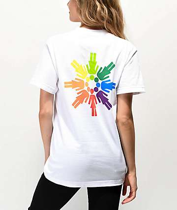 Girl Rainbow OG White T-Shirt