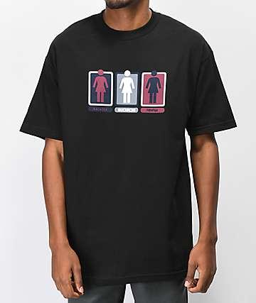 Girl Triple OG Black T-Shirt